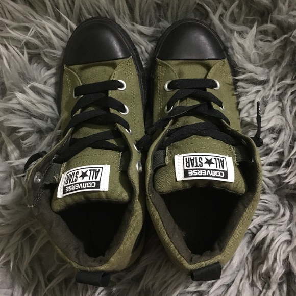 dcbaa0513859b7 Converse Other - Converse all star sneakers - army green and black